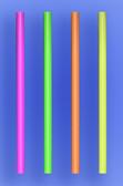 "GIANT STRAW 9"" - NEON - 30/300 (9,000/case)"