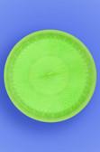 "DELUXE PLATE 9"" - NEON GREEN - 10/10 (100/CASE)"