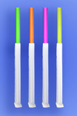 "GIANT STRAW 10.25""  - PAPER WRAPPED - NEON - 4/350 (1,400/case)"