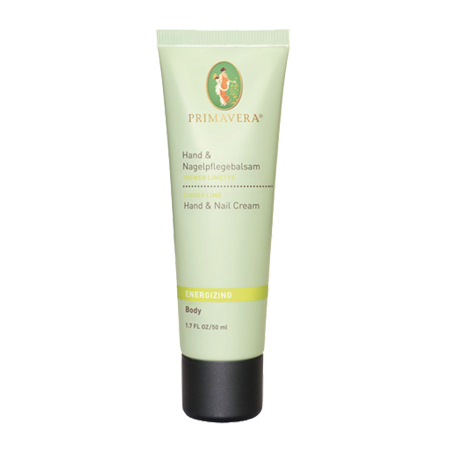 Energizing Hand & Nail Cream - Ginger Lime