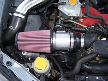 MegaMAF 83mm Big MAF Short Ram Intake - type 'AB' ('02-'07 WRX/STI)
