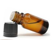 1/3 oz [10ml] Amber Euro Dropper Bottle