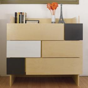 notNeutral Changing Table Dresser