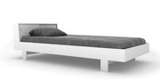 Spot On Square Eicho Twin Bed - White