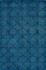 nuLOOM Rugs Colour Aqua Area Rug - Size 4 x 6