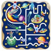 Anatex Outer Space Pathfinder Wall Panel