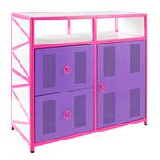 Powell Girls Buggy 1 Door 2 Drawer Dresser