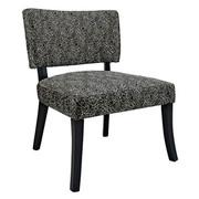 Powell Black Firework Armless Chair
