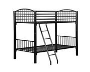 Powell Black Econo Bunk Bed - Twin