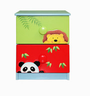 Teamson Design Kids Sunny Safari 2 Drawer Cabinet