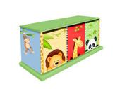 Teamson Design Kids Sunny Safari 3 Drawer Cubby