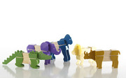 Guidecraft Block Mates - Safari