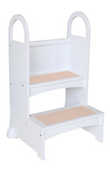 Guidecraft High Rise Step-Up - White