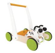 Hape Toys Galloping Zebra Cart