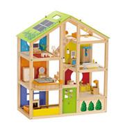 Hape Toys All Season House - Furnished