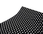 Olli and Lime Cross Changing Pad Cover - Black