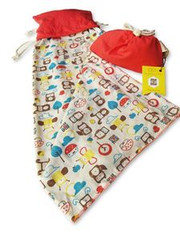 Mezoome Design Organic Pocket Blanket/ Burp Cloth
