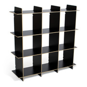 Sprout Kids 9 Cubby Organizer - Black