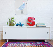 Oeuf Perch Loft Bed Console