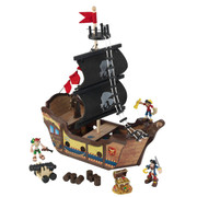 KidKraft Pirate Ship Play Set (added features)
