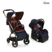 iCoo Acrobat & iGuard Infant Seat - Copper Blue