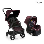 iCoo Acrobat & iGuard Infant Seat - Fishbone Bordeaux