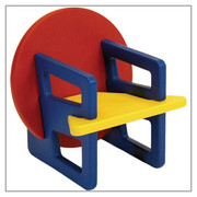 Offi and Co. Puzzle Chair in Primary Colors