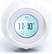 Nanda Home Tocky Analog Alarm Clock - White