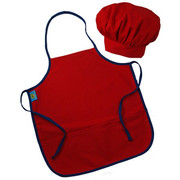 Princess Linens Chef Aprons and Hat Sets