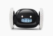 Nanda Home Clocky Alarm Clock That Runs Away in Black