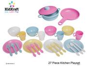 KidKraft 27 Piece Pastel Cookware Set