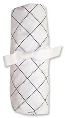 Trend Lab Versailles Black and White Crib Sheet
