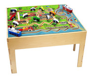 Anatex City Wooden Activity Transportation Table For Children