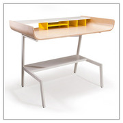 Offi and Co. Half Pipe Desk in Birch