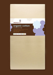 Naturepedic No-Compromise Organic Cotton Lightweight Ultra 2-Stage Crib Mattress