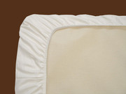Naturepedic Organic Cotton Fitted Portable Crib in Ivory Sheet