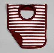 The Green Creation Reversible Bib - Cocoa