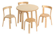 Scandinavian Child Svan Play With Me Toddler Table and Chairs