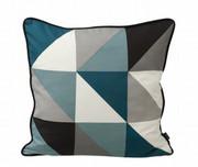 Ferm Living Remix Cushion - Blue