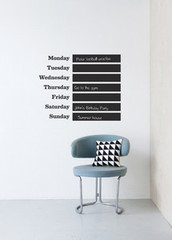 Ferm Living This Week Wall Stickers