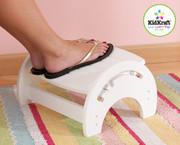 KidKraft Adjustable Stool for Nursing in White