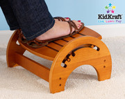 KidKraft Adjustable Stool for Nursing in Honey