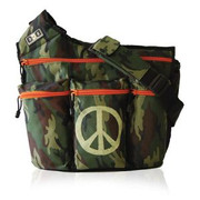 Diaper Dude Dude Bag Camo Peace