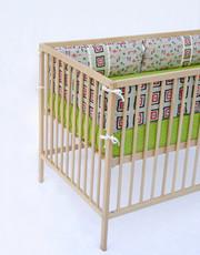 Aunt Bucky Crib Bumper Set Bubby Bears