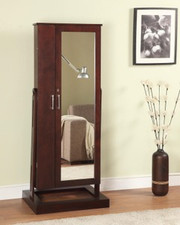 Powell Contemporary Merlot Cheval Jewelry Wardrobe