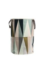 Ferm Living Spear Laundry Basket - Multi