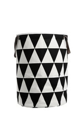 Ferm Living Triangle Laundry Basket - Black
