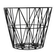 Ferm Living Wire Basket in Black - Medium