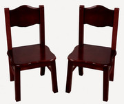 Guidecraft Classic Espresso Extra Chairs - Set of 2