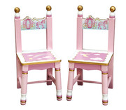 Guidecraft Princess Extra Chairs - Set of 2